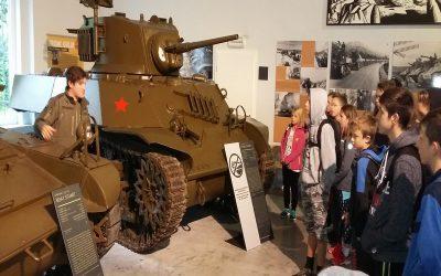 Obisk parka vojaške zgodovine