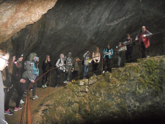 Izlet v jamo Dimnice