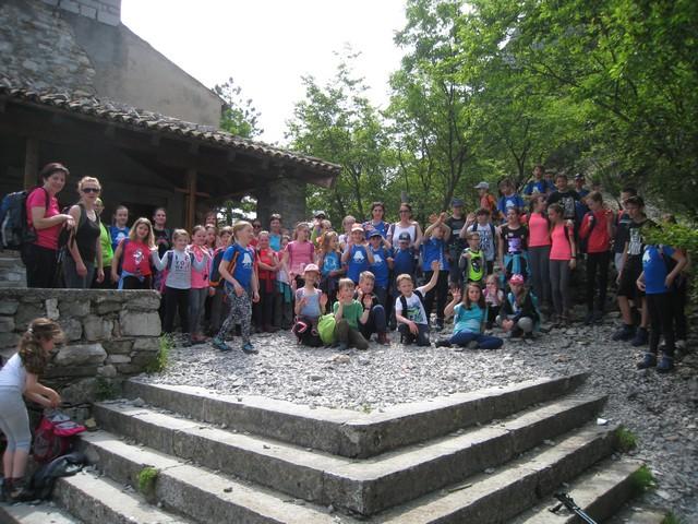 Zaključek akcije Mlad bistr´ški planinc