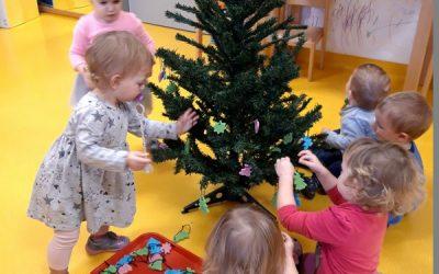 Čarobni december v skupini Metuljčki