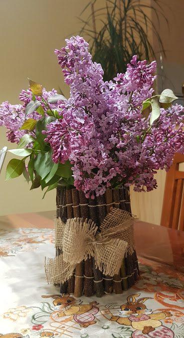 Tehniški dan: vaze in svečniki