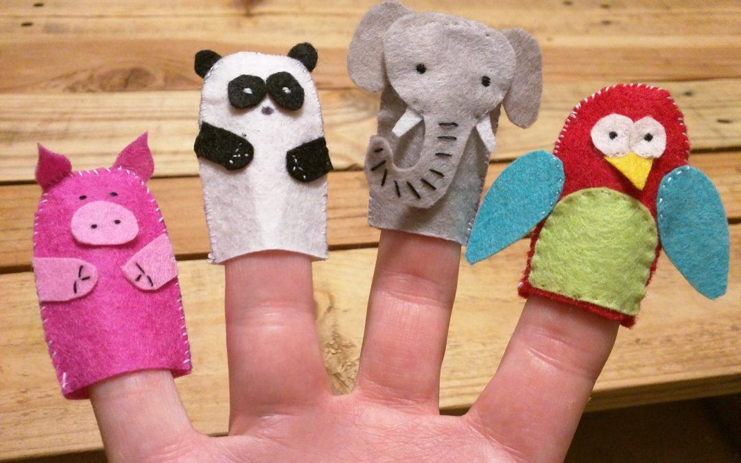 Otroci so izdelali lutke