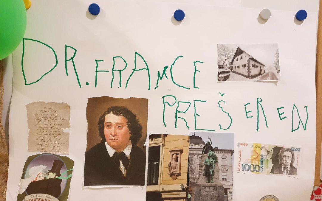 France Prešeren pri Želvicah