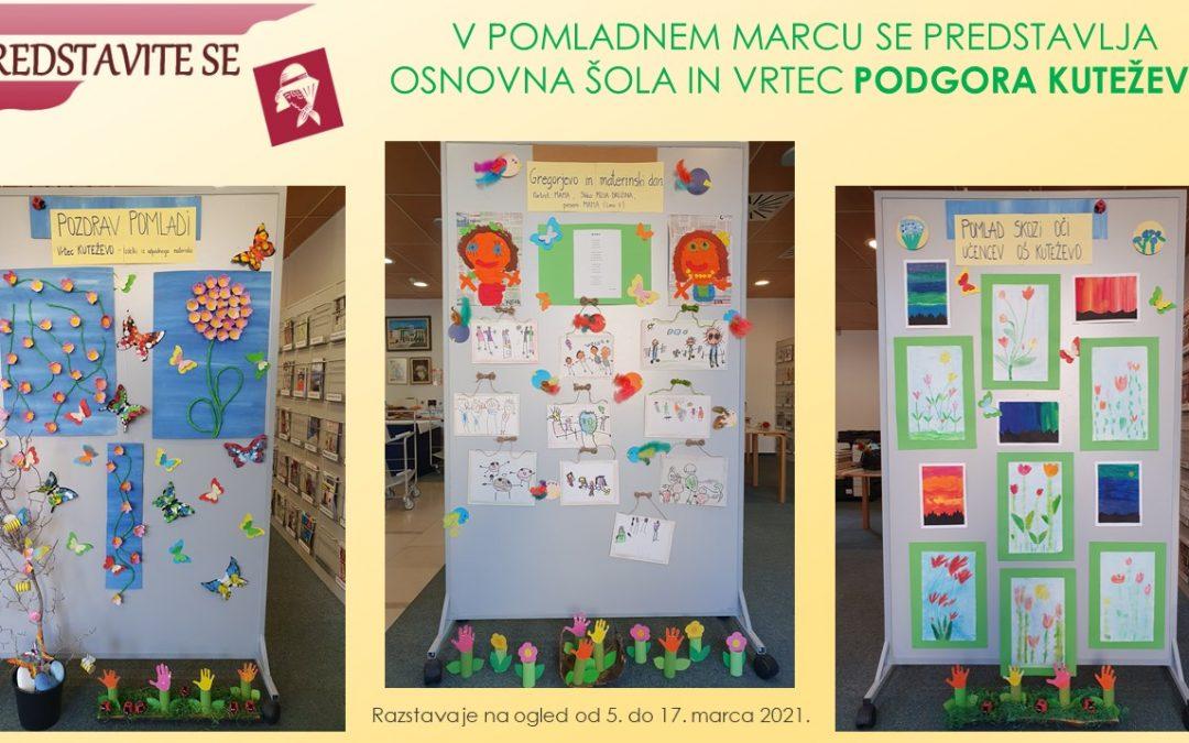 Vabljeni na ogled razstave v knjižnici Makse Samsa
